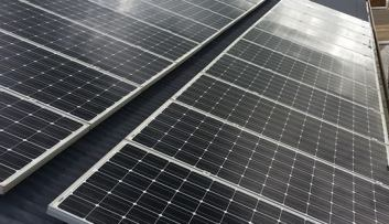 Solar installation, cleaning, maintenance