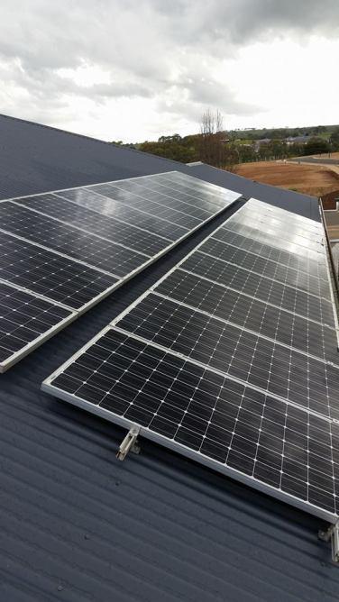 Solar installation, cleaning, maintenance
