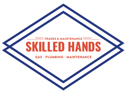 Skilled Hands Logo reversed