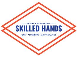 Skilled Hands - Gas, Plumbing, Maintenance - Logo