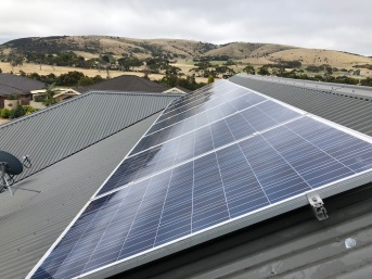 Skilled Hands - Solar panels with a view